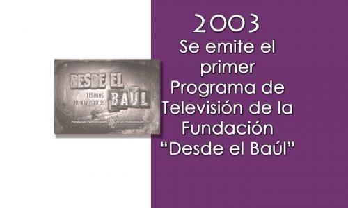 2003 desde baul